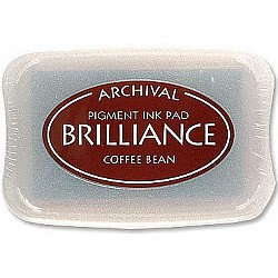 Brilliance Archival Pigment InkPad - Coffee Bean