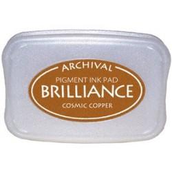 Brilliance Archival Pigment InkPad - Cosmic Copper