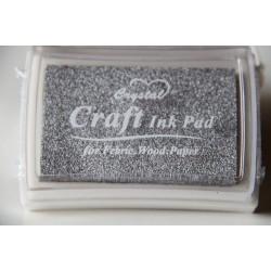 Crystal Craft Ink Pad - Silver