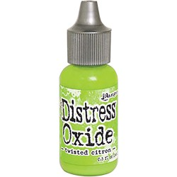 Tim Holtz Distress Oxides Reinker - Twisted Citron