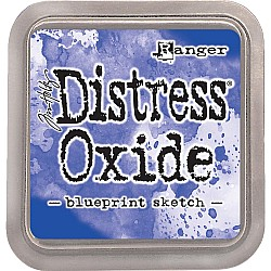 Tim Holtz Distress Oxides  -  Blueprint Sketch