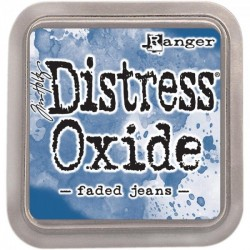 Tim Holtz Distress Oxides  -  Faded Jeans