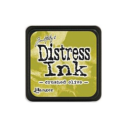 Tim Holtz Mini Distress Ink Pad - Crushed Olive