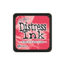 Tim Holtz Mini Distress Ink Pad -  Festive Berries