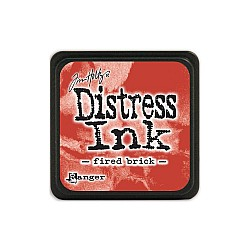 Tim Holtz Mini Distress Ink Pad - Fired Brick