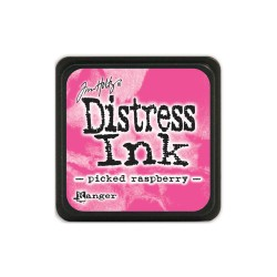 Tim Holtz Mini Distress Ink Pad - Picked Raspberry