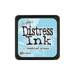 Tim Holtz Mini Distress Ink Pad - Tumbled Glass
