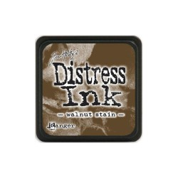 Tim Holtz Mini Distress Ink Pad - Walnut Stain
