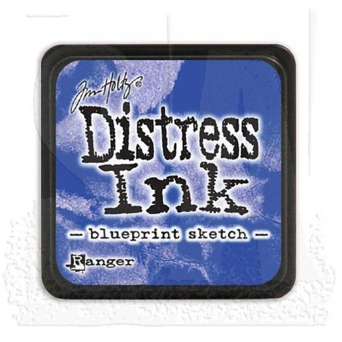 Tim Holtz Mini Distress Ink Pad -  Blueprint Sketch