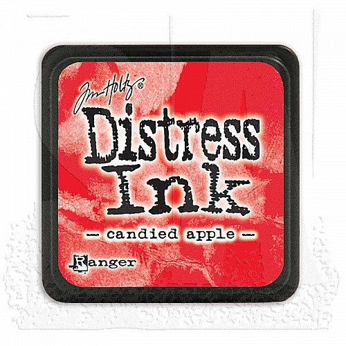 Tim Holtz Mini Distress Ink Pad -  Candied Apple