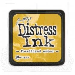 Tim Holtz Mini Distress Ink Pad -  Fossilized Amber