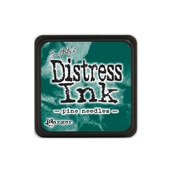 Tim Holtz Mini Distress Ink Pad - Pine Needles