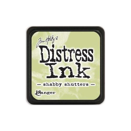 Tim Holtz Mini Distress Ink Pad - Shabby Shutters