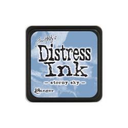 Tim Holtz Mini Distress Ink Pad - Stormy Sky
