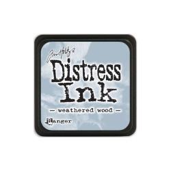Tim Holtz Mini Distress Ink Pad - Weathered Wood