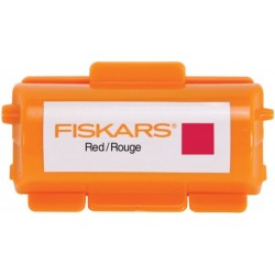Fiskar Continuous Stamp Wheel Ink Cartridge - Red