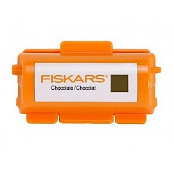 Fiskar Continuous Stamp Wheel Ink Cartridge - Choclate