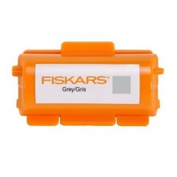 Fiskar Continuous Stamp Wheel Ink Cartridge - Silver Grey
