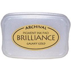 Brilliance Archival Pigment InkPad - Galaxy Gold