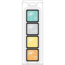 Hero Arts Dye Ink Cubes - Summer Splash (Set of 4)