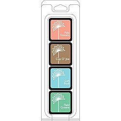 Hero Arts Dye Ink Cubes - Quiet Morning (Set of 4)