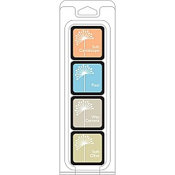 Hero Arts Dye Ink Cubes - Just Beachy (Set of 4)