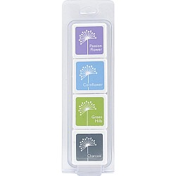 Hero Arts Dye Ink Cubes - Field Notes (Set of 4)