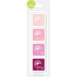 Hero Arts Dye Ink Cubes - May's Shades Of Pink (Set of 4)