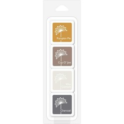 Hero Arts Dye Ink Cubes - Earth Neutrals (Set of 4)