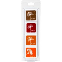Hero Arts Dye Ink Cubes - Autumn Trees (Set of 4)