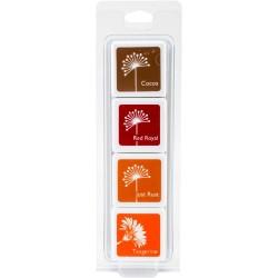 Hero Arts Dye Ink Cubes - Autumn Trees (Set of 4)