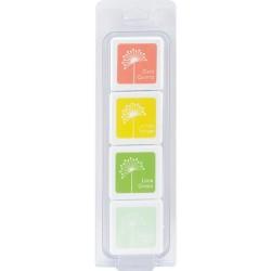 Hero Arts Dye Ink Cubes - Early Spring (Set of 4)
