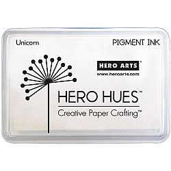 Hero Hues Pigment Ink Pad - Unicorn White
