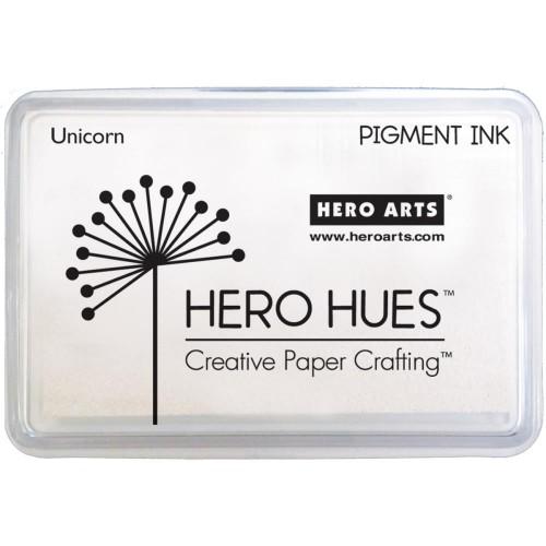 Hero Hues Pigment Ink Pad - Unicorn White
