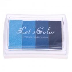 Lets Color Ombre Ink Pads - Blue