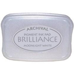 Brilliance Archival Pigment InkPad - Moonlight White