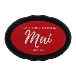 Mudra Dye Ink pads Mai - Ruby Red