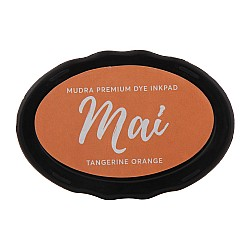 Mudra Dye Ink pads Mai - Tangerine Orange