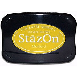 StazOn Solvent Ink Pad - Mustard