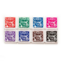 Ink pads (Set of 8 ink pads) CI-17