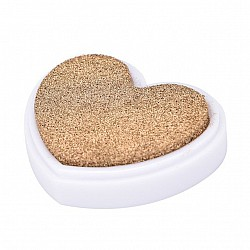 Colorful Heart shaped Ink Pad - Gold