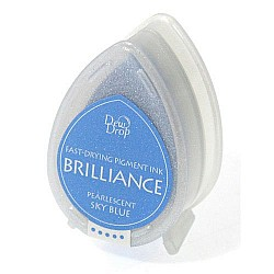 Brilliance Dew Drops - Pearlescent SkyBlue