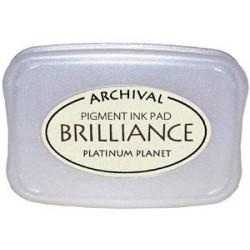 Brilliance Archival Pigment InkPad - Platinum Planet