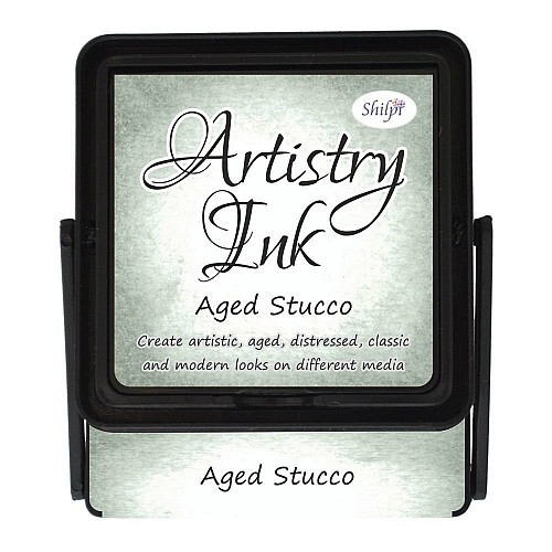 Shilpi Artistry Ink Pad - Aged Stucco
