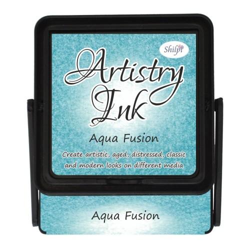 Shilpi Artistry Ink Pad - Aqua Fusion
