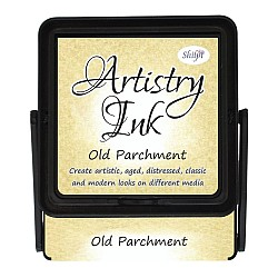 Shilpi Artistry Ink Pad - Old Parchment