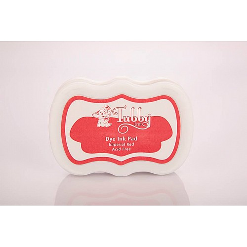 Tubby Craft Dye Ink Pad - Imperial Red