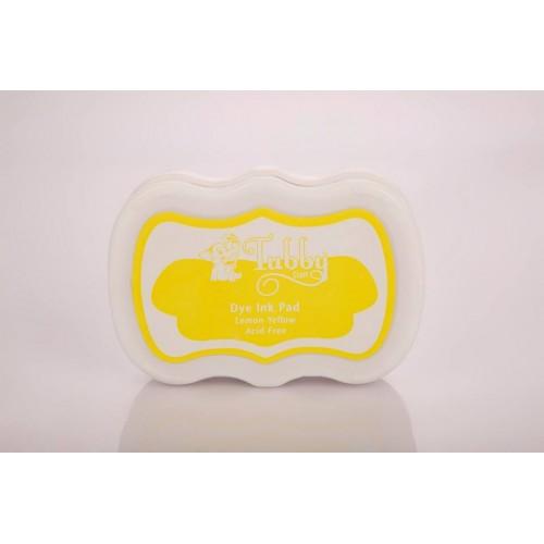 Tubby Craft Dye Ink Pad - Lemon Yellow