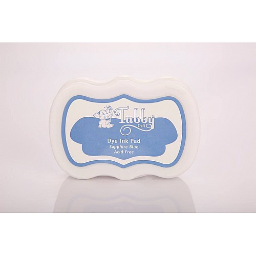 Tubby Craft Dye Ink Pad - Sapphire Blue