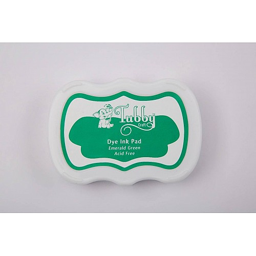 Tubby Craft Dye Ink Pad - Emerald Green